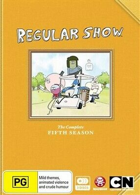 Regular Show Season 5 DVD • 16.46£
