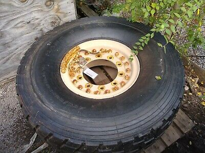 $230 • Buy Tires SAND TRAIL Tread.  5-ton Trucks And Trailers Military FMTV 450/80R20 WHEEL
