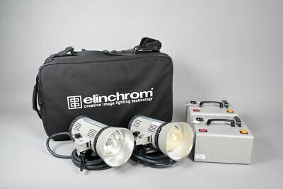Elinchrom Daylight 575 HMI 2 Head Continuous Lighting Kit • 999£