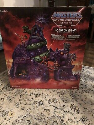 $1789 • Buy Masters Of The Universe Classics Snake Mountain Playset - In Hand Motuc USA