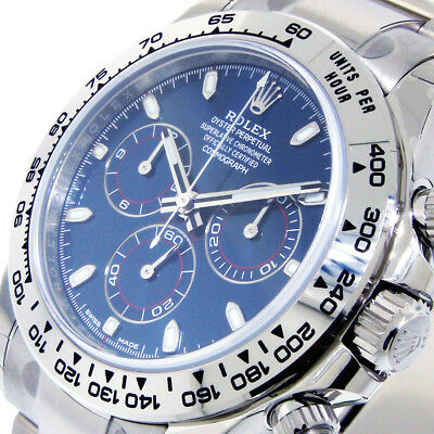 $ CDN56579.39 • Buy ROLEX 116509 DAYTONA BLUE COSMOGRAPH 40 Mm 18K WHITE GOLD CHRONOGRAPH 116509