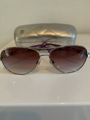 AU96.15 • Buy Authentic Chanel Aviator Sunglasses