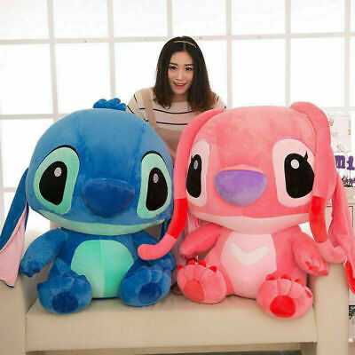 20/35/40cm Cute Lilo & Stitch Plush Dolls Soft Toys Teddy Disney Figure Kid Xmas • 11.39£
