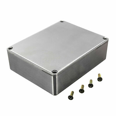 £13.31 • Buy Silver Aluminium Electronics Project Box Enclosure Hobby Case With Screws