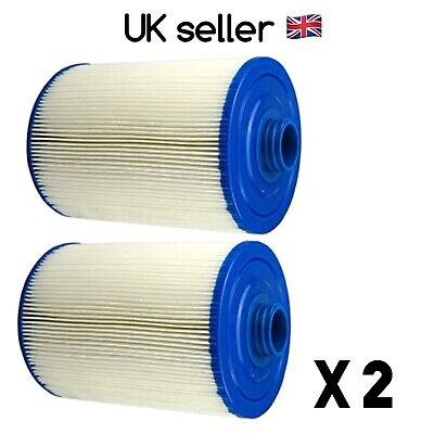 2x Superior Spas/Miami Spas Hot Tub Filter PWW50 6CH-940 - SC714 • 40£