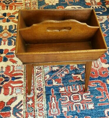 $ CDN165.18 • Buy ANTIQUE STAND Made With CUTLERY KNIFE CARRIER TRAY