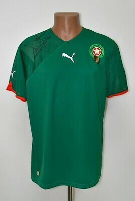 £44.99 • Buy Morocco National Team 2010/2011 Home Football Shirt Jersey Puma Size L Adult