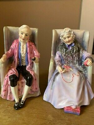 $ CDN528.58 • Buy Pristine Condition, Royal Doulton Porcelain Figurines Darby & Joan, C1940
