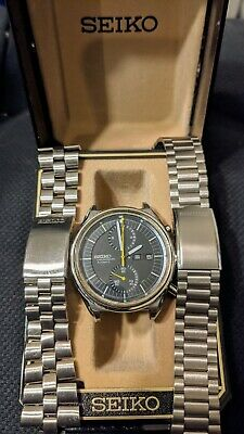 $ CDN396.42 • Buy Vintage Seiko Jumbo 6138 Automatic Chronograph Watch 42mm, Perfect Case & Lens