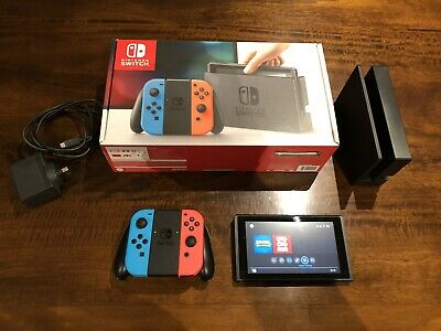 AU300 • Buy Nintendo Switch 32GB Neon Blue/Neon Red Console