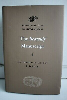 The Beowulf Manuscript (Dumbarton Oaks Medieval Library) New Hardcover Book • 17.99£