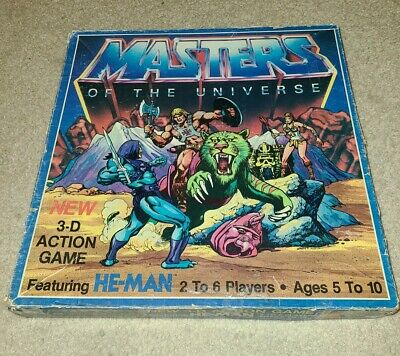 $18 • Buy Vintage Masters Of The Universe, 3-D Action Game, 1983