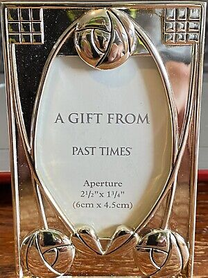 Past Times Miniature Mackintosh Silver Plated Picture Photograph Frame - BNIB • 15£