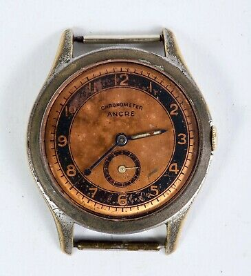$ CDN198.22 • Buy Vintage Wrist Watch Chronometer Ancre 15 J Made In Germany Ca 1940's