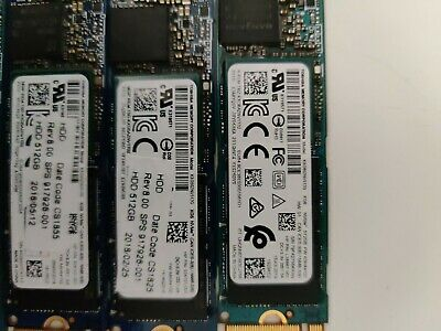$ CDN64.75 • Buy Lot 8 X Toshiba 512GB M.2 SSD PCIe NVMe M2 SDD KXG60ZNV512G XG5 And XG6