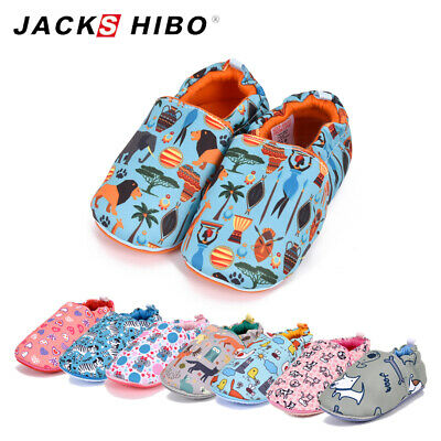 Baby Walking Boys Girls Winter Home Shoes Infants Toddler Animals Warm Slippers • 7.79£