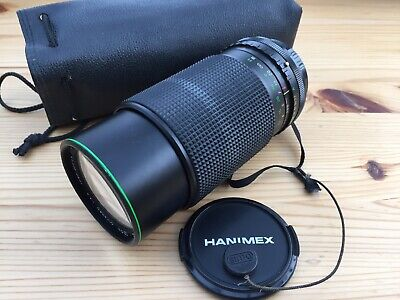 Hanimex MC Automatic Zoom C-Macro 1:4.5 F=80-200mm 52 Lens • 19.99£