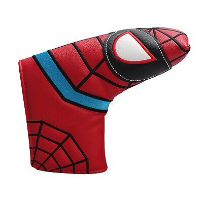 AU21.88 • Buy Golf Putter Head Covers Blade Magnetic Closure Spider Red Golf Club Protector