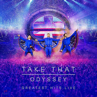 Take That:odyssey:greatest Hits Live (cd/dvd+ Photobook)-brand New And Sealed = • 7.99£