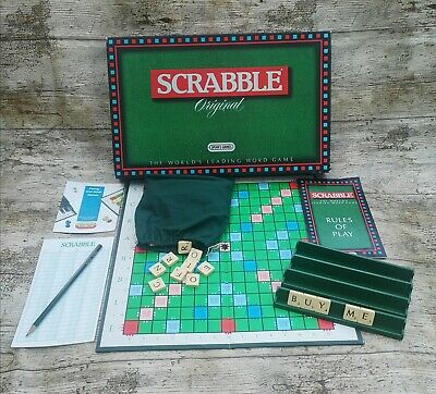 SCRABBLE By Spears Games - Vintage 1988 Set Complete & VGC • 3.50£