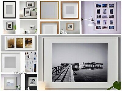 IKEA RIBBA Photo Frame Picture Display Square Box 3D Deep Frame,All Model&Sizes✅ • 11.49£