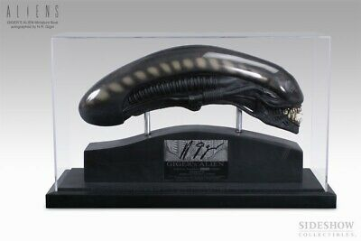 Sideshow 1:2 Gigers Autographed Alien Head By H.R Giger *Limited 500 • 2,995£