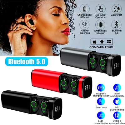 $ CDN25.36 • Buy For IPhone 11 12 Pro Max XR XS X 8 7 Plus Compatible Wireless Earphone Earbuds
