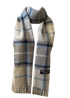 $6.99 • Buy New Winter Womens Mens 100% Cashmere Wool Wrap Scarf Plaid Scarves (#41)