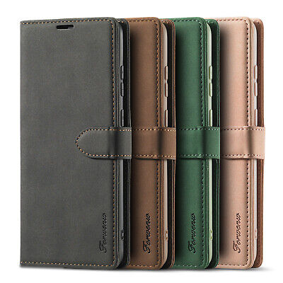 $ CDN8.59 • Buy For Samsung Galaxy S10 Plus S10e S9 S8 Magnetic Leather Case Flip Wallet Cover