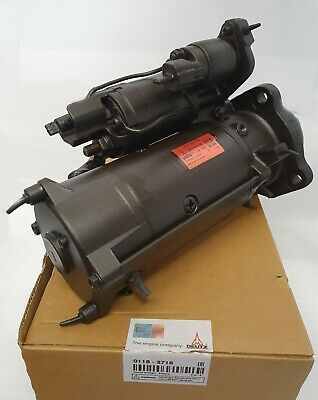 AU520.15 • Buy 01183718 Starter 24v 4kw 11.132.140 Genuine Deutz For Tcd4.1 Engines