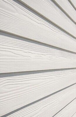 CEDRAL LAP WEATHER BOARD CLADDING C01 WHITE  (2 X 3.6 Metre Lengths) + Offcuts • 18.99£