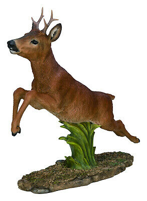 £169.99 • Buy Vivid Arts Large Galloping Roe Deer Home Or Garden Ornament (XRL-ROED-B)