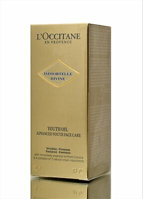 L'Occitane Anti Aging Immortelle Divine Youth Oil 30ml - Helps Wrinkles/Firmness • 59.99£