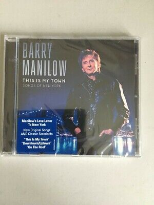 CD- Barry Manilow- This Is My Town, Unopened • 4£
