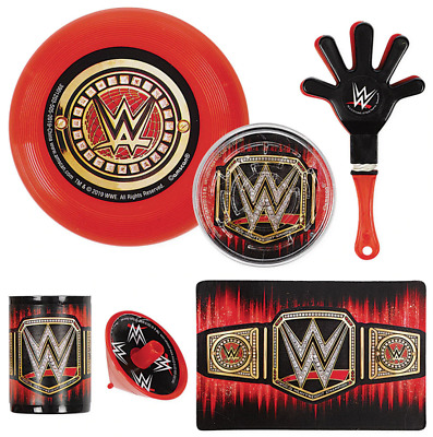 £10.13 • Buy WWE Smash Mega Mix Value Pack ~ Boys Birthday Decorations Party Supplies 48pc