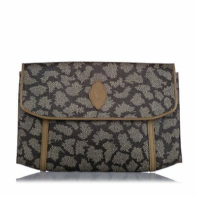 AU704 • Buy YSL Printed Flap Clutch Bag