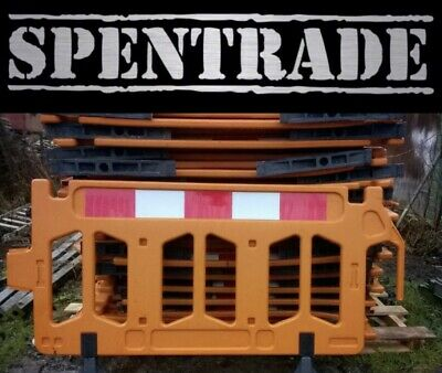 Road Barrier 1 X Traffic Management Chapter 8 Pedestrian Plastic Safety Barriers • 17.50£