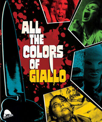 ALL THE COLORS OF THE GIALLO - Blu-ray - DVD - Giallo - Cult - 3 Disc Incl CD • 28.50£