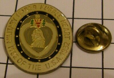 $4.99 • Buy MILITARY ORDER PURPLE HEART OF THE USA 1782 1982 Vintage Pin Badge Z4X