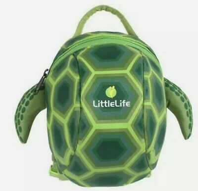 Littlelife Toddler Backpack With Rein Turtle 1-3 Years New And With Tags.  • 14.95£