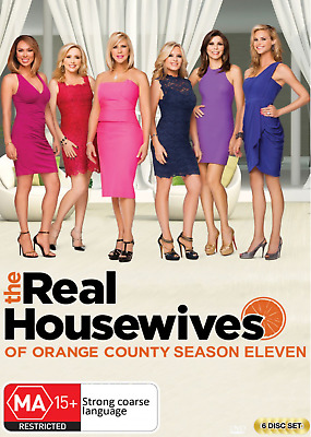 £29.77 • Buy THE REAL HOUSEWIVES OF Orange County - SEASON ELEVEN 11 - DVD - NEW / SEALED R4