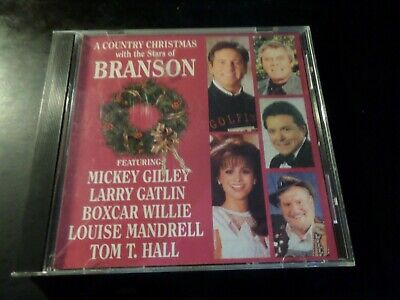 Cd Album - A Country Christmas With The Stars Of Branson - Louise Mandrell  • 2.68£
