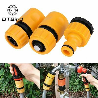 Coupling Adapter Drip Tape Watering Irrigation Faucet Hose Garden Water Connect • 7.98£