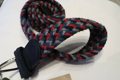 Andersons Woven Belt Multicolour B0067 NC165 012  BNWT NEW RRP £80.00  • 26.99£