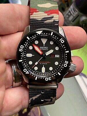 $ CDN908.12 • Buy Seiko Custom MOD SKX007 Analog Automatic NH36 Kanji Date Wheel