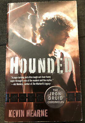 £10.62 • Buy HOUNDED KEVIN HEARNE IRON DRUID CHRONICLES Signed /rothfus Butcher Tolkien Dahl