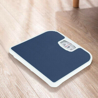 NEW Accurate Mechanical Dial Bathroom Scales Weighing Scale Body Weight Blue UK • 12.01£