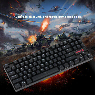 AU62.30 • Buy REDRAGON K552 Gaming Mechanical Wired Keyboard Mouse Backlight For PC Laptop USB