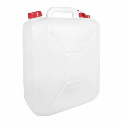25l Litre Plastic Jerry Can With Pouring Tap Water Container Carrier Bottle • 12.95£