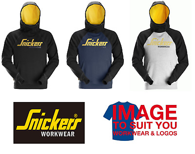 £69.99 • Buy Snickers 2889 Logo Hoodie All Colors And Sizes Available